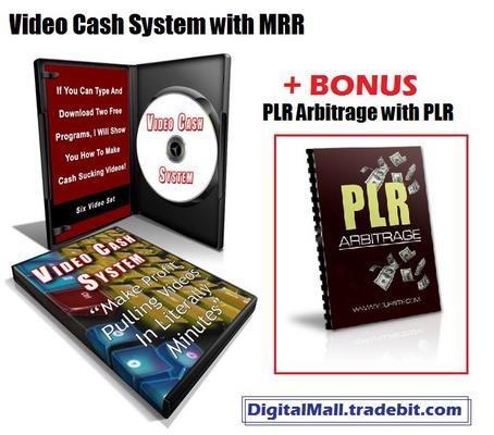 Product picture Video Cash System MRR + BONUS PLR