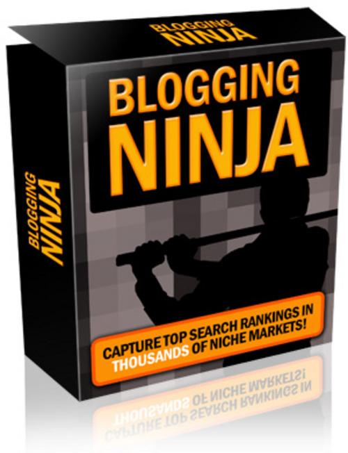 Product picture Blogging Ninja MRR + Bonus PLR